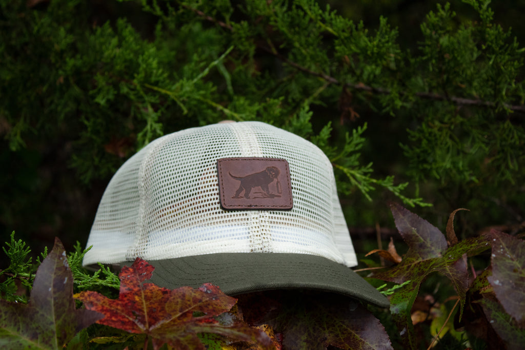 Tom Beckbe Wildrose Mesh Leather Patch Hat