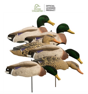Magnum Full Form Shell Mallard, Variety Pk, Flocked Heads