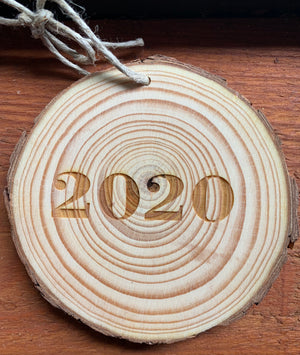 2020 Wildrose Ornaments