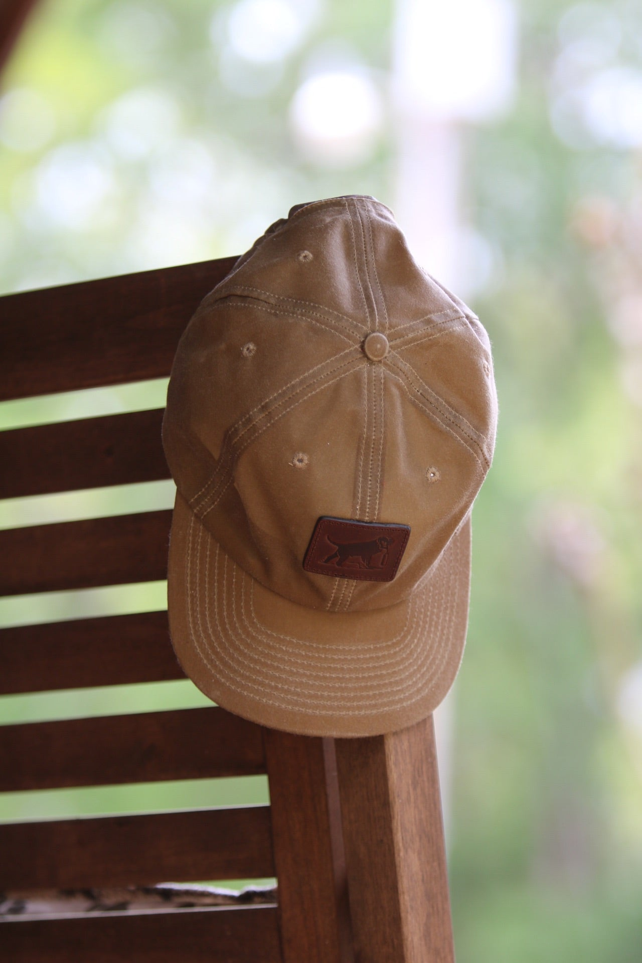 Tom Beckbe Wax Canvas Leather Patch Hat
