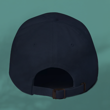 Load image into Gallery viewer, I AM BESPOKE. Navy cap