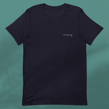 Load image into Gallery viewer, HOME VIBES navy tee