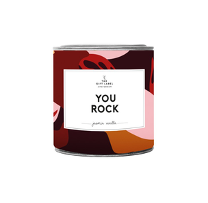YOU ROCK Jasmine Vanilla Large Scented Candle
