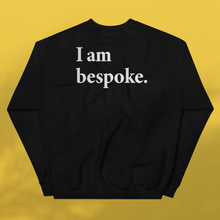 Load image into Gallery viewer, I AM BESPOKE. Sweater black men's