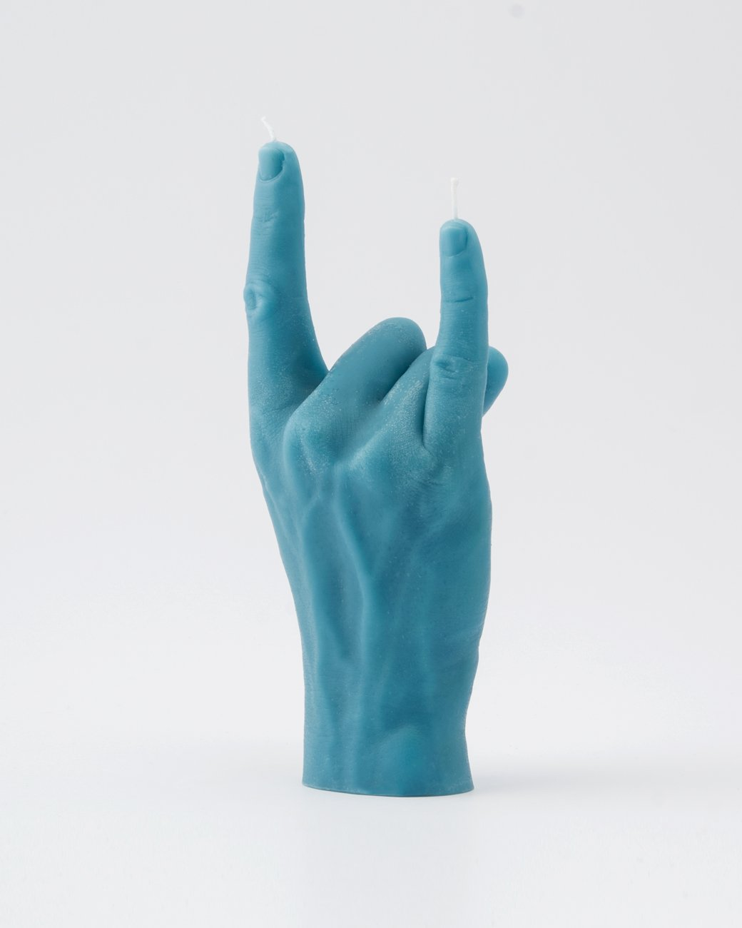 YOU ROCK  Hand gesture blue Candle Hand
