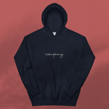 Load image into Gallery viewer, & COMPANY navy hoodie men's