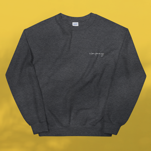 I AM BESPOKE. Sweater grey men's