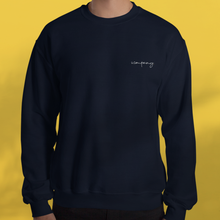 Load image into Gallery viewer, I AM BESPOKE. Sweater navy men's