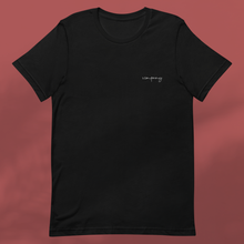 Load image into Gallery viewer, I AM BESPOKE black tee mens
