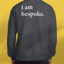 Load image into Gallery viewer, I AM BESPOKE. Sweater grey men's