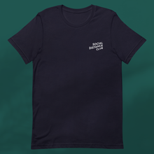 Load image into Gallery viewer, SOCIAL DISTANCE CLUB Navy tee unisex