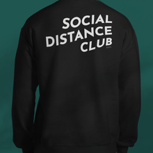 Load image into Gallery viewer, SOCIAL DISTANCE CLUB Black sweater unisex