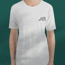 Load image into Gallery viewer, SOCIAL DISTANCE CLUB white tee