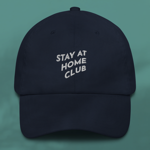 STAY AT HOME Navy cap