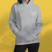 Load image into Gallery viewer, STAY AT HOME CLUB Grey hoodie Unisex