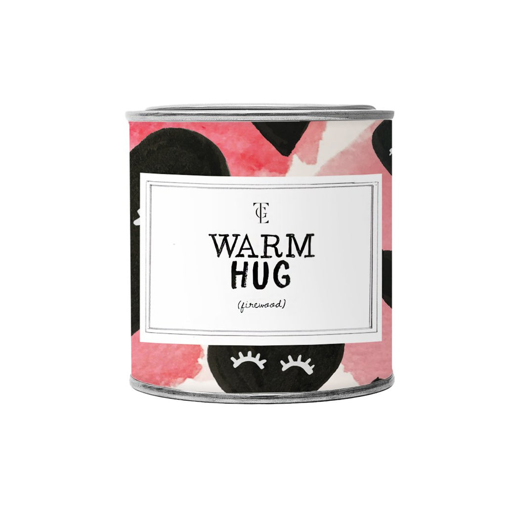 WARM HUG Jasmine Vanilla Large Scented Candle