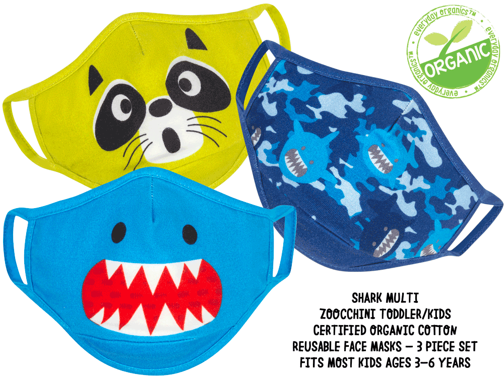 Zoocchini Organic Reusable Masks