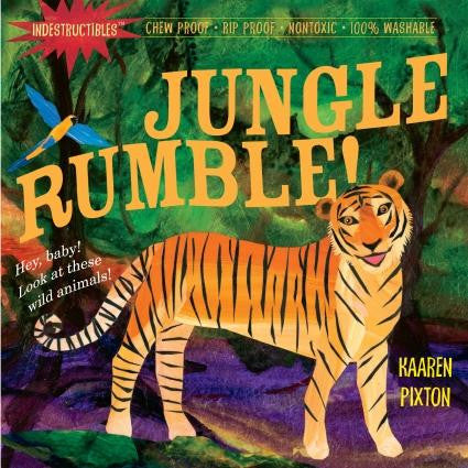 Indestructible Books Jungle Rumble