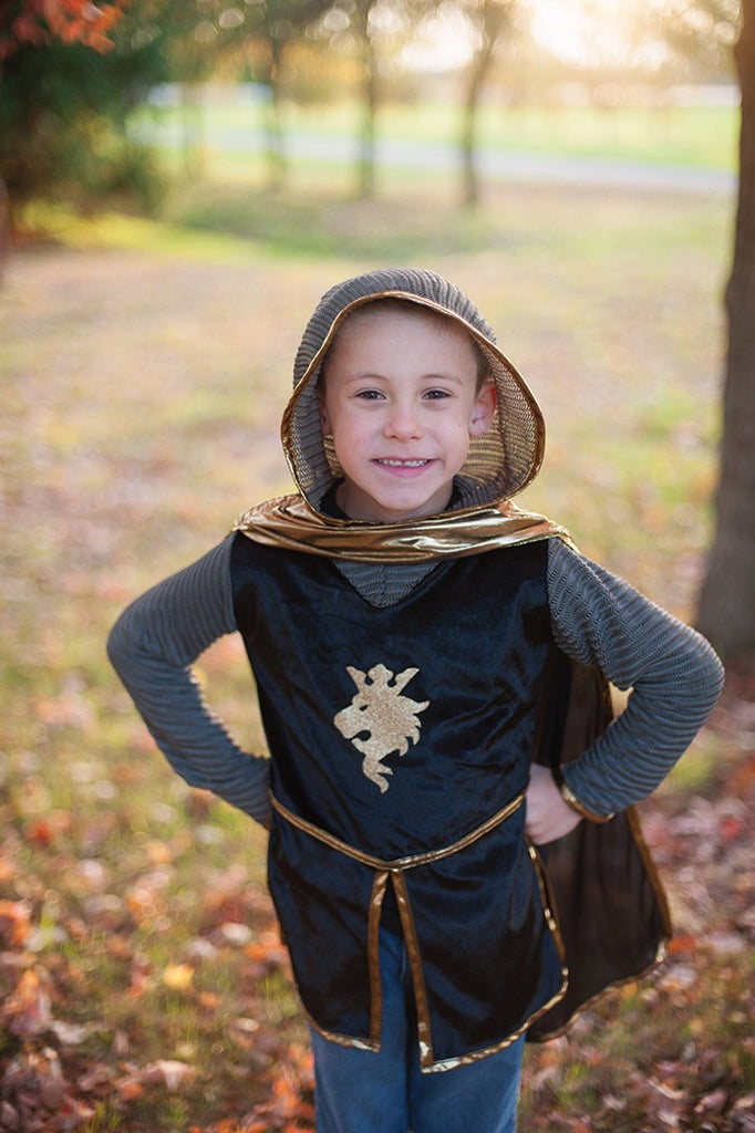 Knight Tunic/Cape/Crown Set