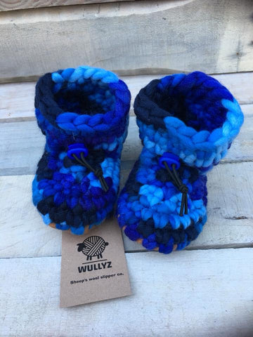 Wullyz Assorted Wool Slippers Size 0