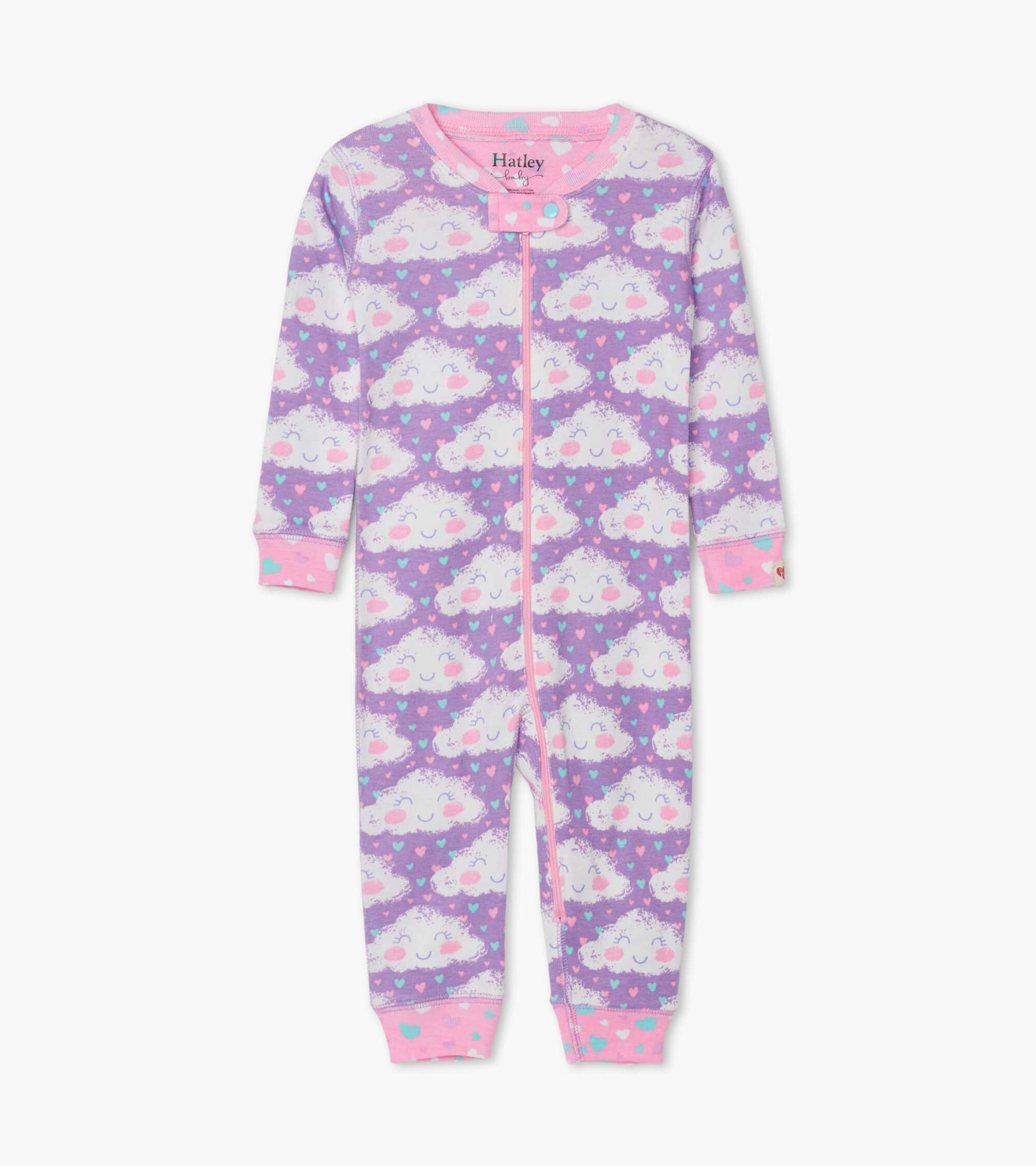 Cheerful Clouds Organic Cotton Coverall
