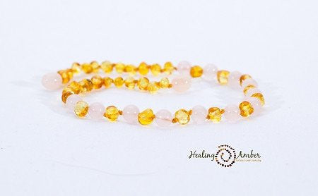 Gemstones and Baltic Amber Necklaces