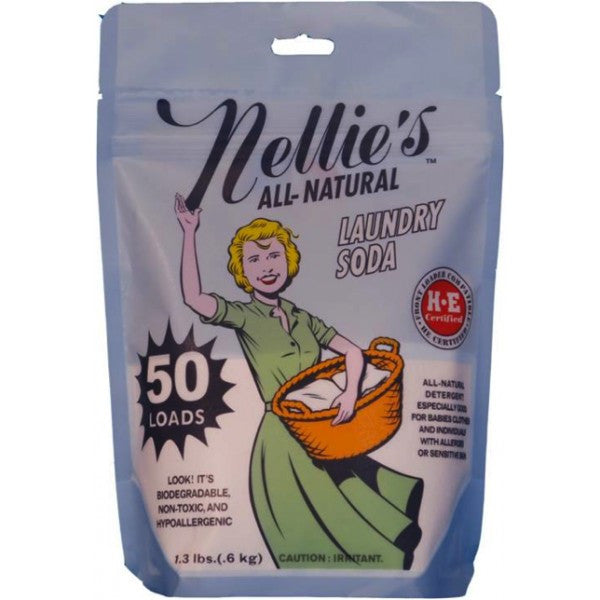 Nellie S All Natural Laundry Soda Ingredients