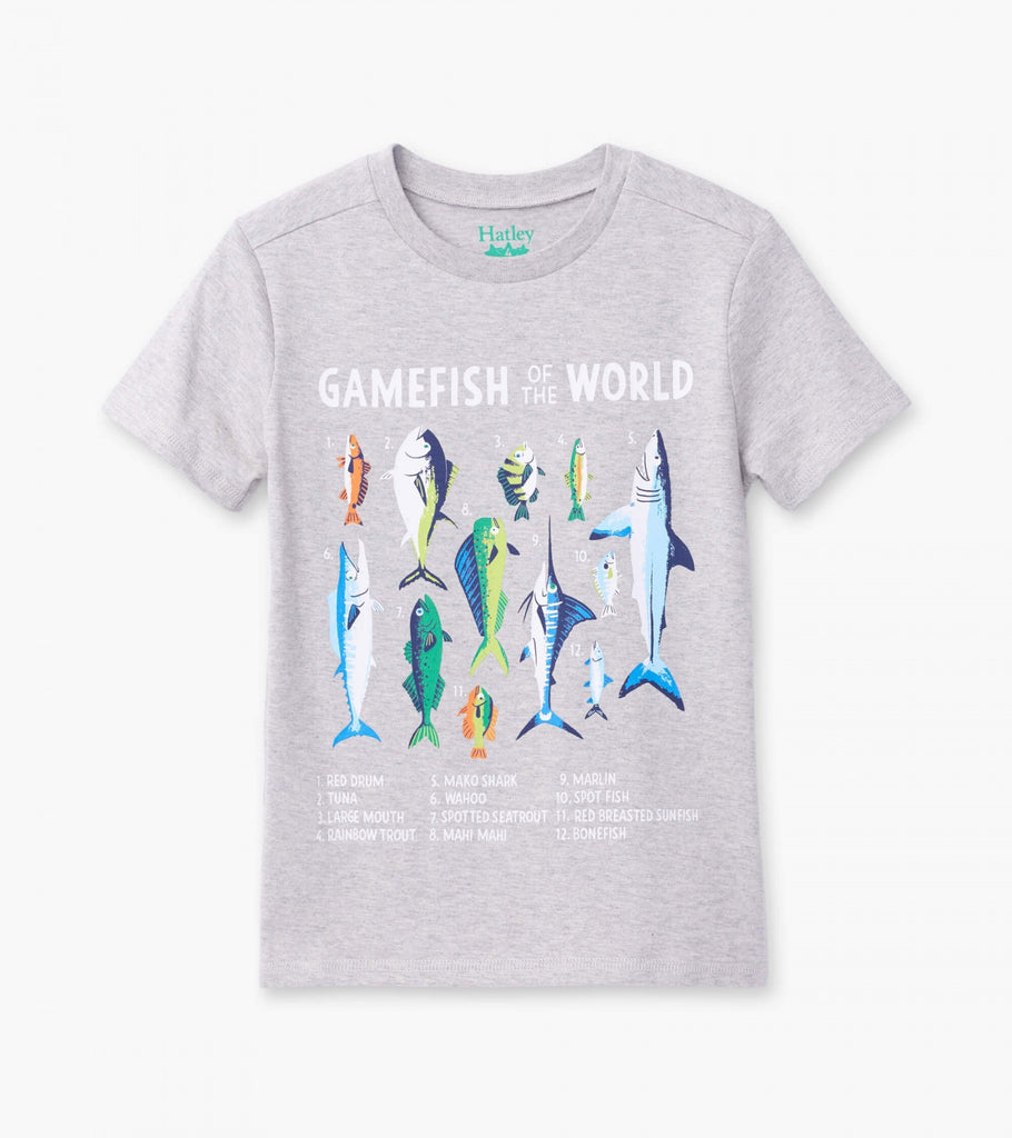 Hatley Boys Game Fish Graphic Tee