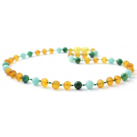 Gemstones & Baltic Amber Necklaces