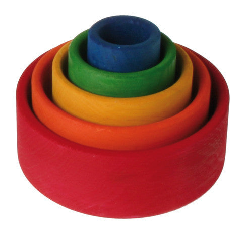 Grimm's Small Stacking Bowls