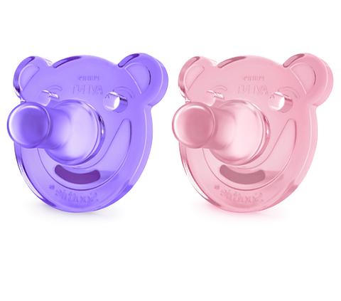 Phillips Avent- Soothie Shapes Pacifier 3m+  2/pk