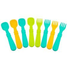 Re-Play Spoons and Forks 8 pc