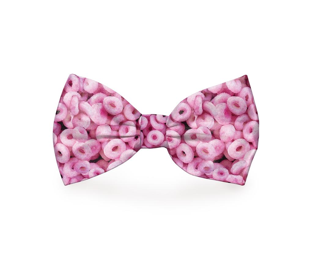 "Free Shipping! ""Cheerio"" Cheerio's Dog Bow Tie"