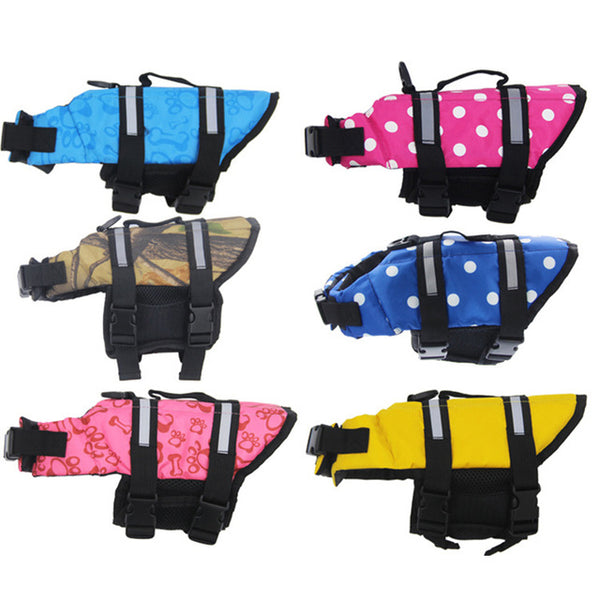 Free Shipping! Dog Vest Life Jacket Quick Release Easy Fit
