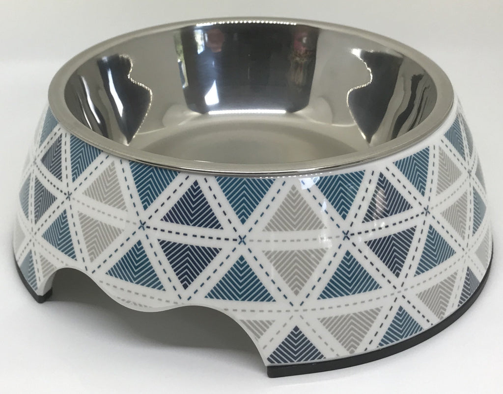 "Free Shipping! ""By The Sea"" Medium Size Dog Bowl"