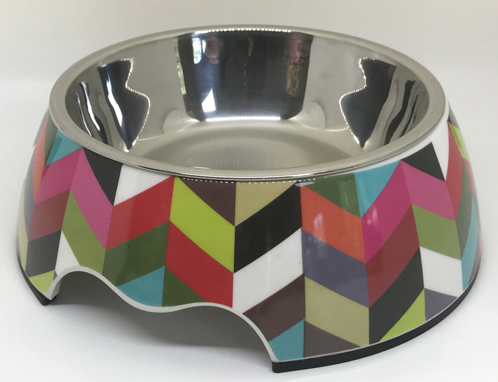 "Free Shipping! ""Picasso"" Medium Size Dog Bowl"