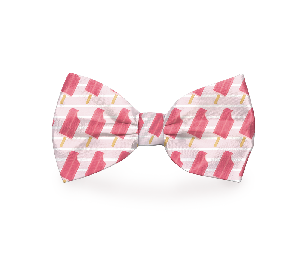 "Free Shipping! ""Ice Pup"" Ice Pop Dog Bow Tie"