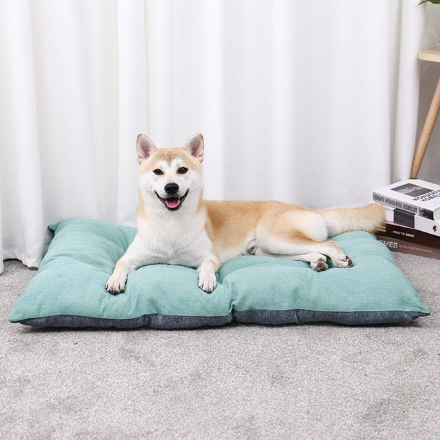 Free Shipping! Luxury Pet Dog Cushions Warm House Bed