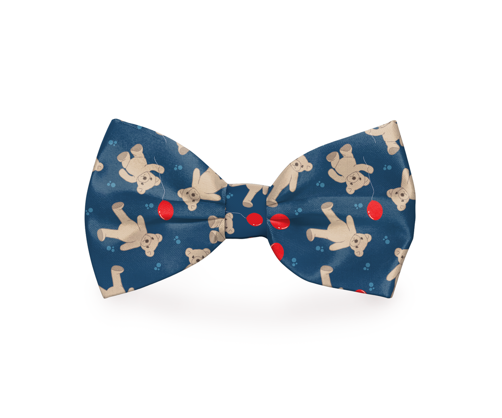 "Free Shipping! ""Me & My Teddy"" Teddy Bear Dog Bow Tie"