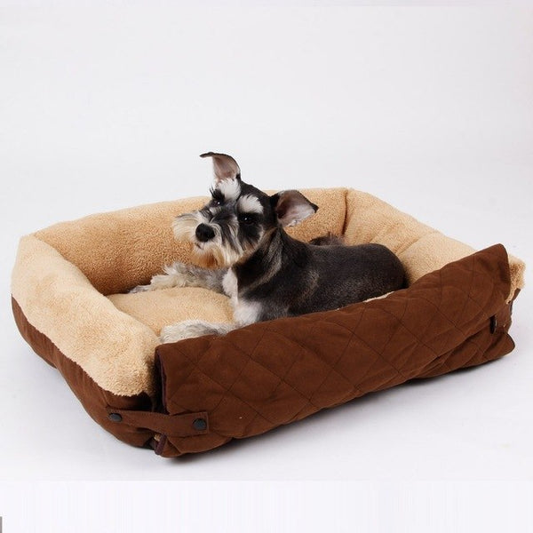 Free Shipping! Pet Dog Bed Super Soft Sofa Bed Warm Dog