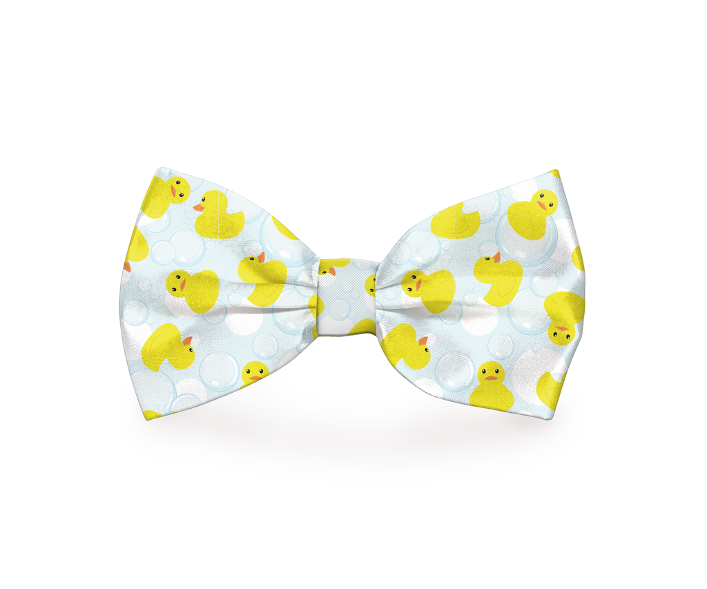 "Free Shipping! ""Rubber Duckies"" Dog Bow Tie"