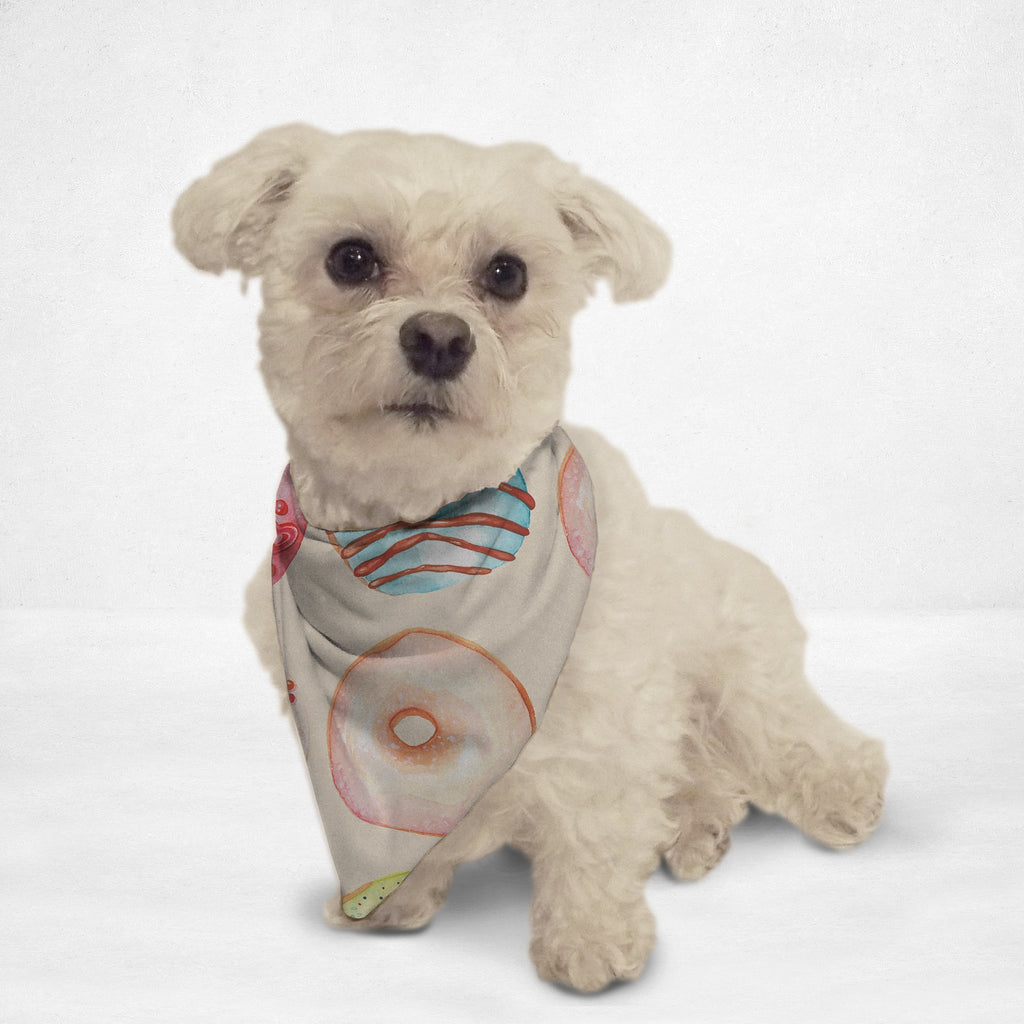 Doughnut Craze Cat & Dog Bandana