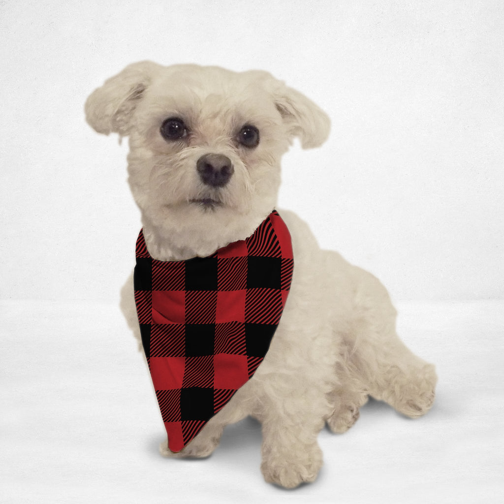 Lumberjack Cat & Dog Bandana