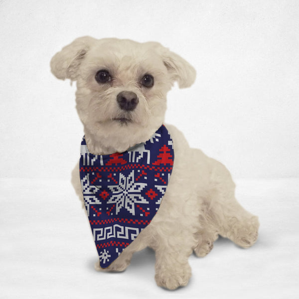 Ugly Sweater Cat & Dog Bandana