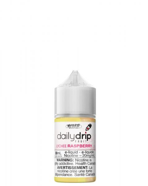 Lychee Raspberry Salts 30ml by Daily Drip