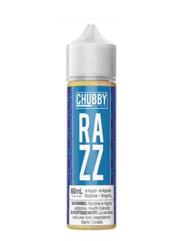 Bubble Razz 60ml Chubby Bubble Vapes