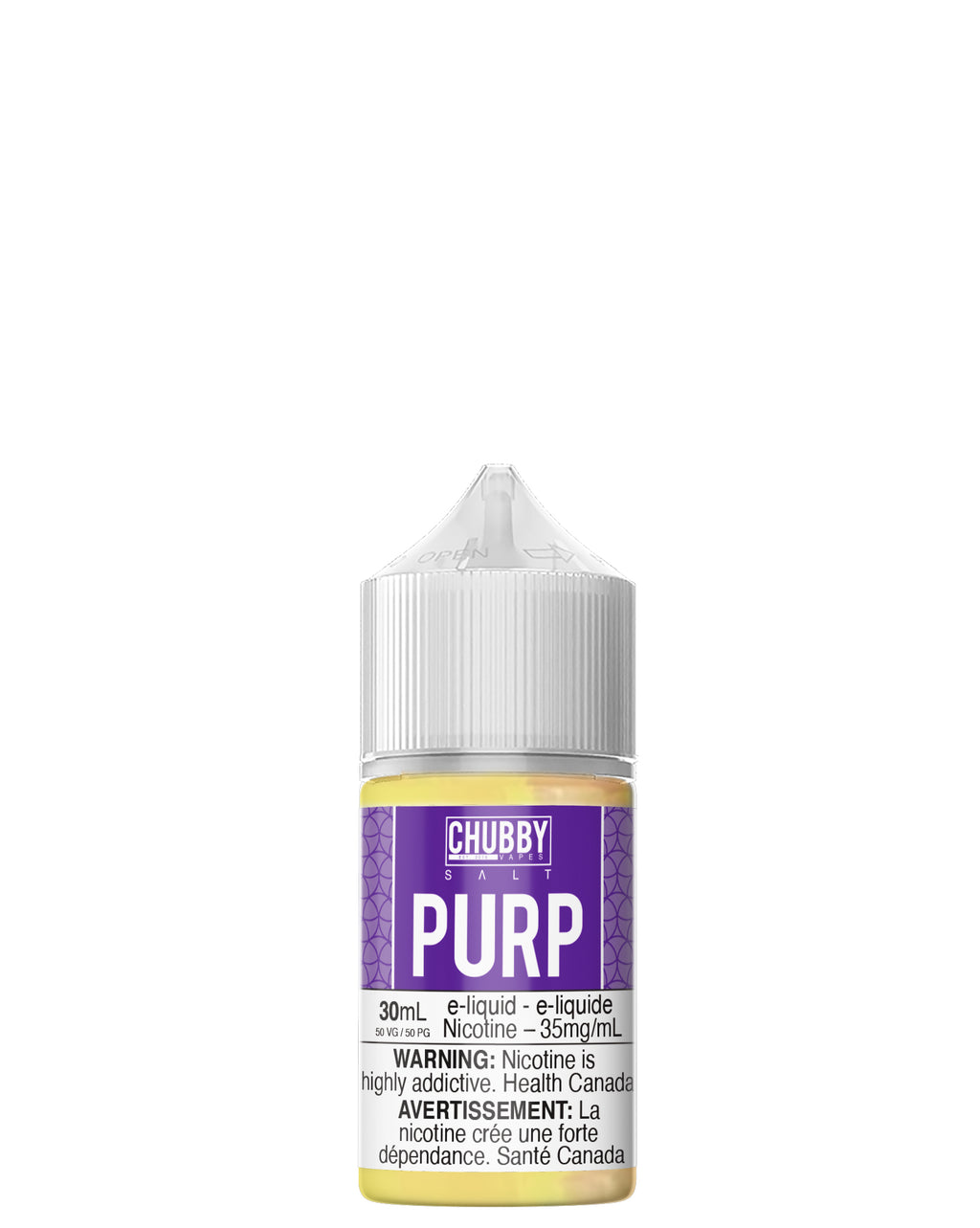 Bubble Purp Salts 30ml by Chubby Bubble Vapes