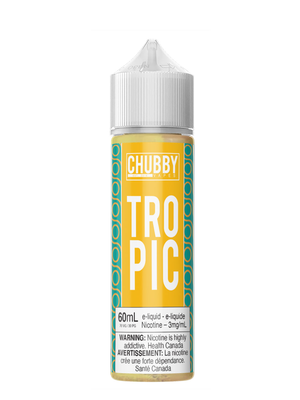 Bubble Tropic 60ml by Chubby Bubble Vapes