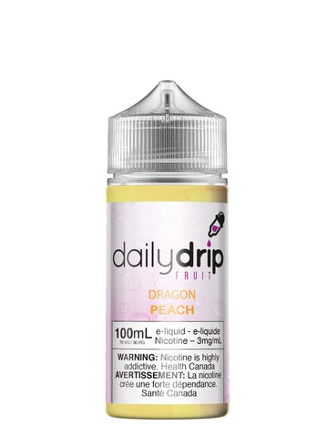 Dragon Peach par Daily Drip 100ml