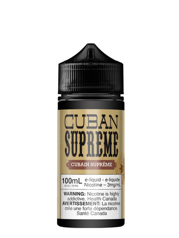 Cuban Supreme 100ml par Vapeur Express
